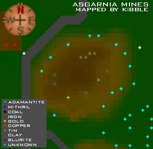 The asgarnia mines